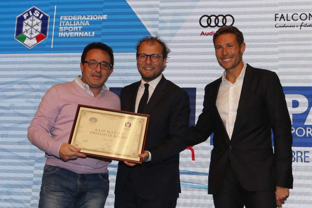 Skipass 2017. Premiazione Sci club Stellati premiati da Luca Lotti Ministro dello sport.  Modena 27 ottobre 2017  Photo by Pentaphoto/Mateimage/ Marco Trovati